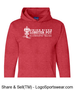 Lobster Pot Sweat Design Zoom