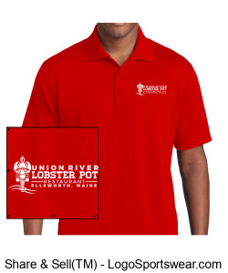 Red Polo Design Zoom